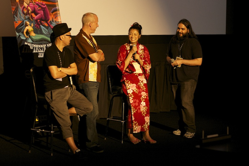 Q&A Greatful Dead with director Eiji Uchida and actress Kumi Takiuchi