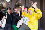 A Silly Pose From Peelander Yellow and Friends