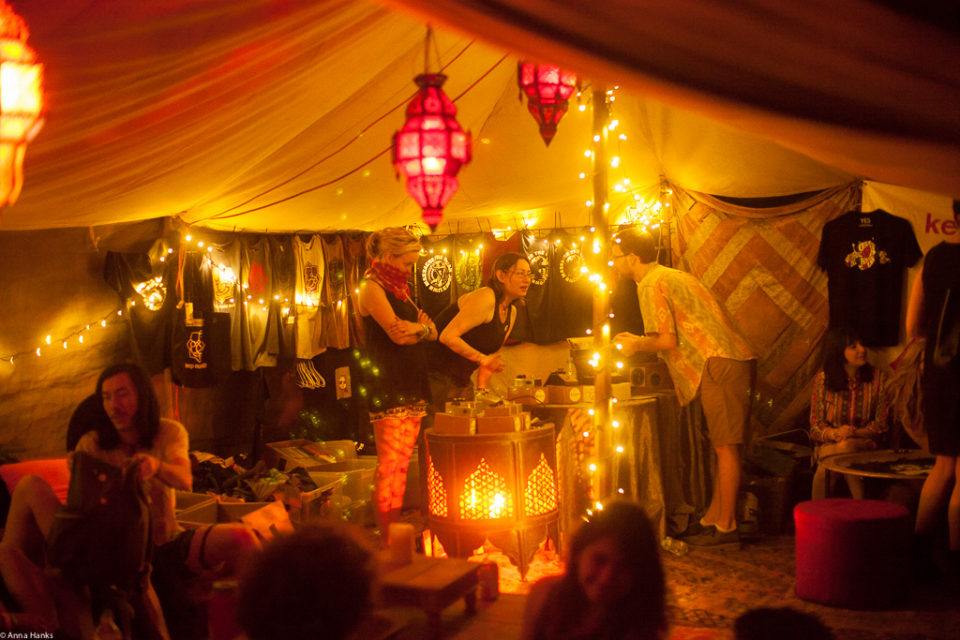 Lounge Space at Austin Psych Fest, 2014.