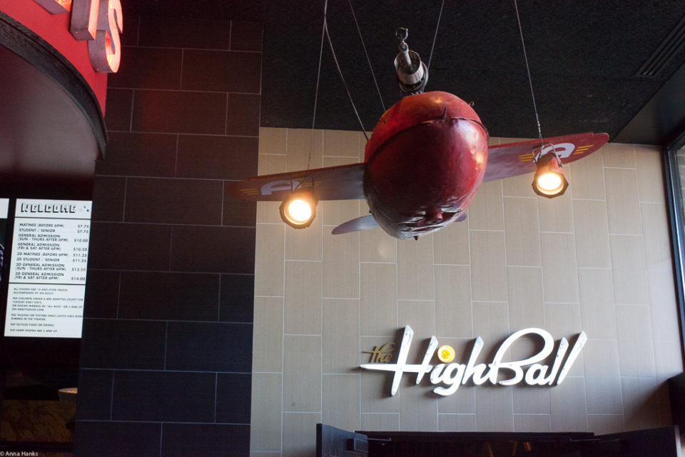 Entrance into the Highball
