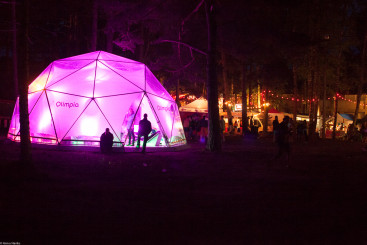 Positivus at Night