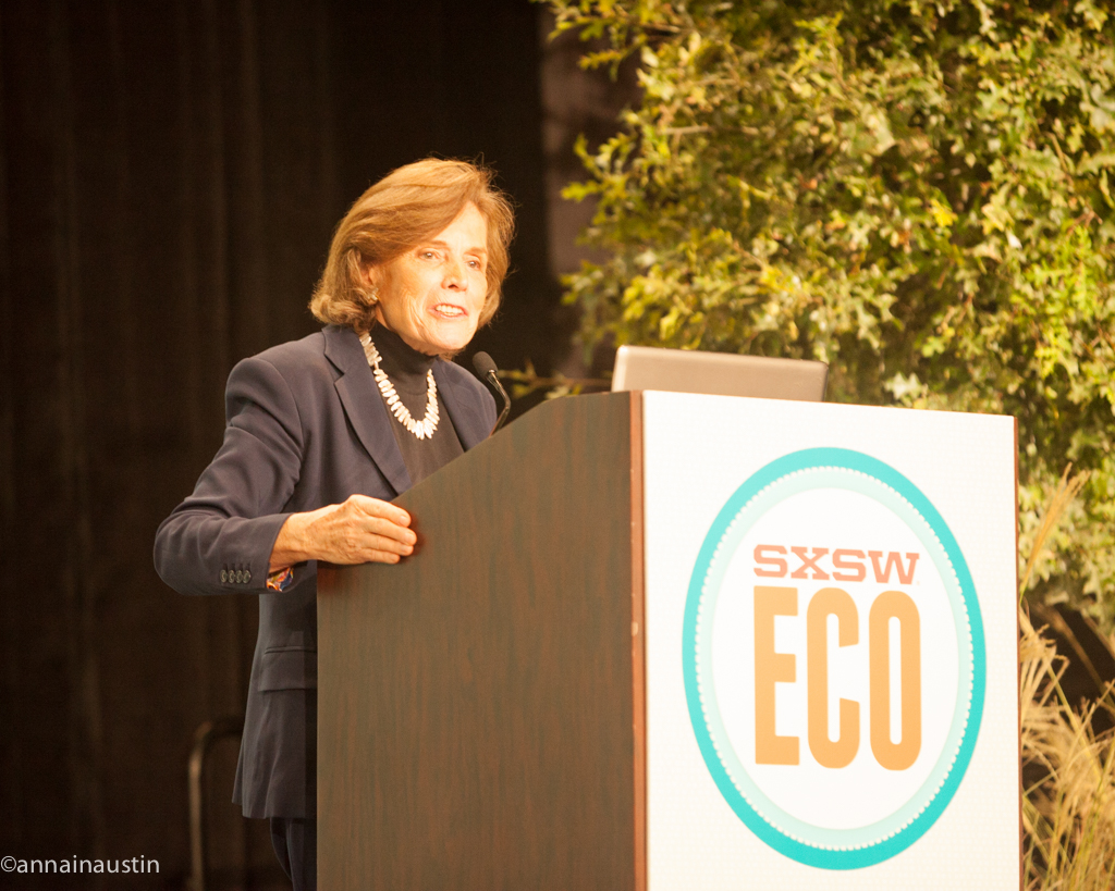 Sylvia A. Earle SXSW Eco 2014-