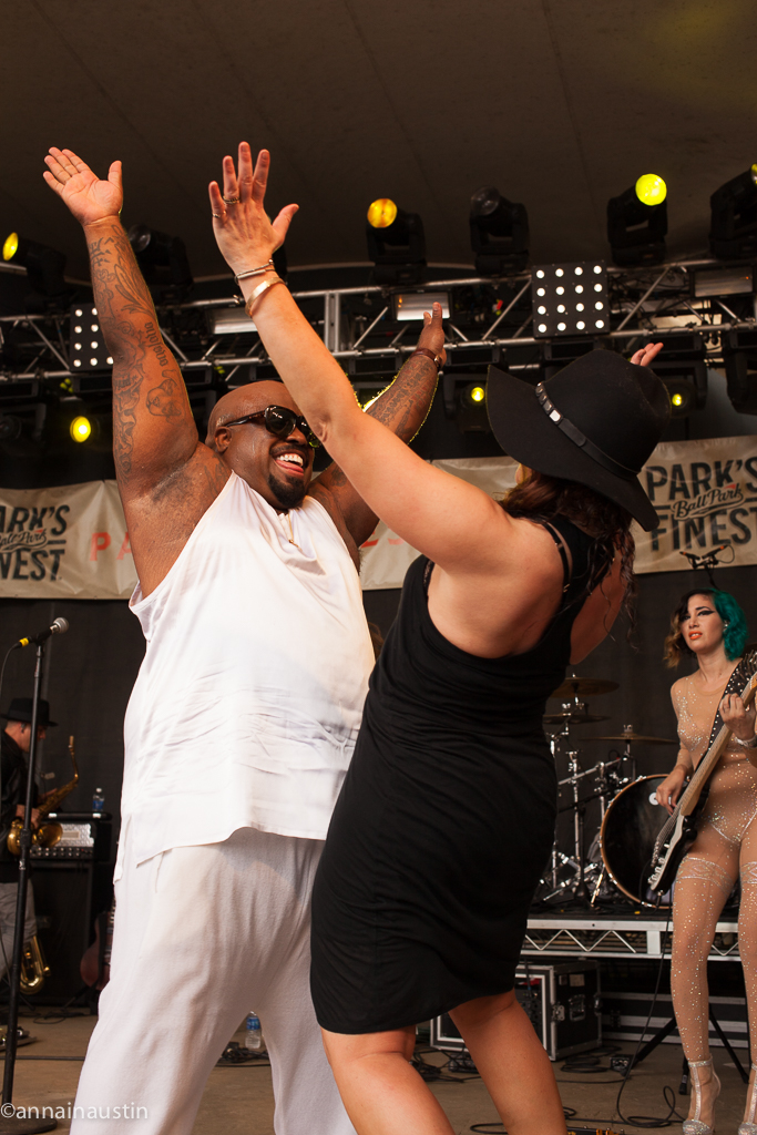 CeeLo Green and Rachael Ray at Rachael Ray's Feedback Party Rachael Ray's Feedback Party SXSW 2014--5