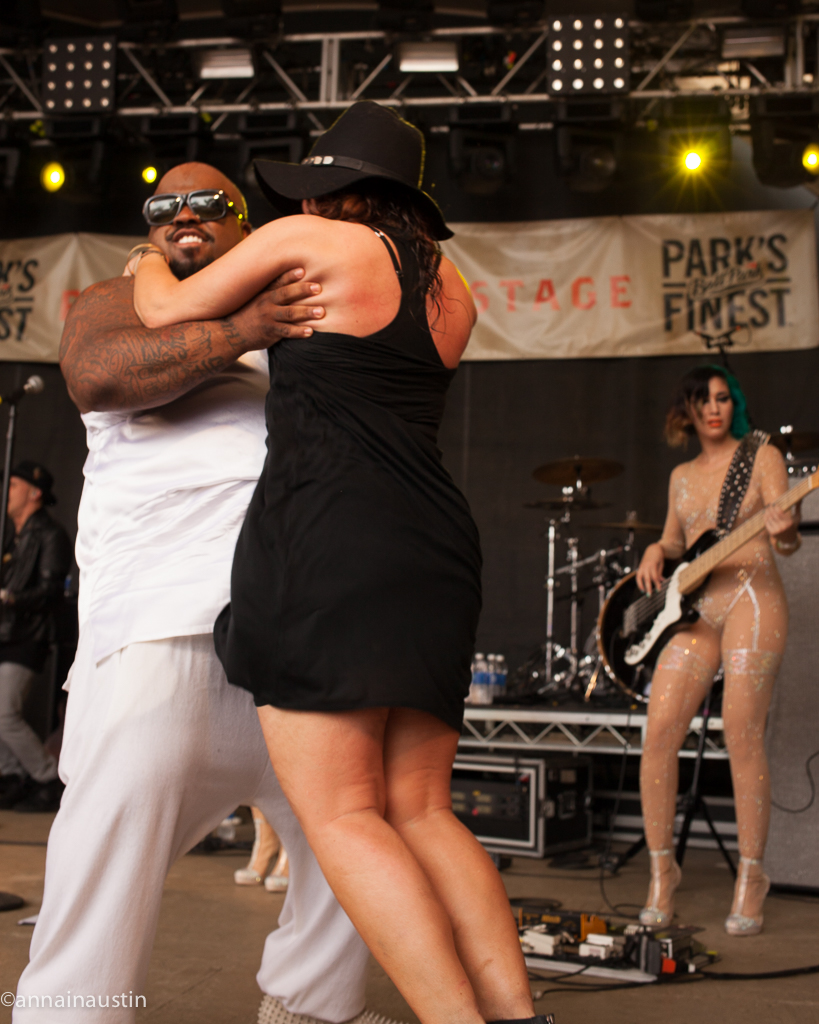 CeeLo Green and Rachael Ray at Rachael Ray's Feedback Party Rachael Ray's Feedback Party SXSW 2014--6