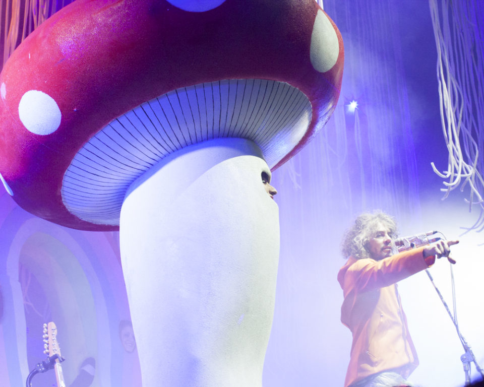 Giant Mushroom at The Flaming Lips, SXSW 2015