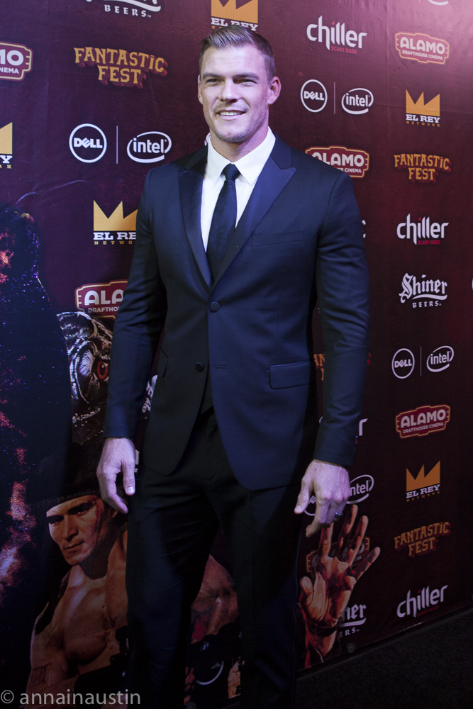 Alan Ritchson, LAZER TEAM red carpet, Fantastic Fest 2015-9754