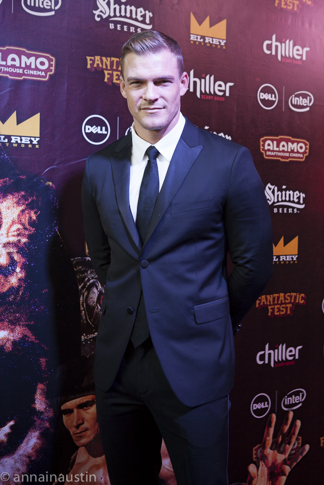 Alan Ritchson, LAZER TEAM red carpet, Fantastic Fest 2015-9758