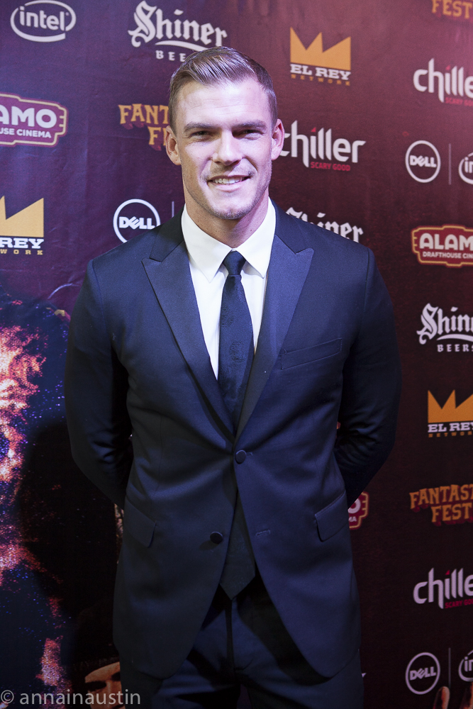 Alan Ritchson, LAZER TEAM red carpet, Fantastic Fest 2015-9768