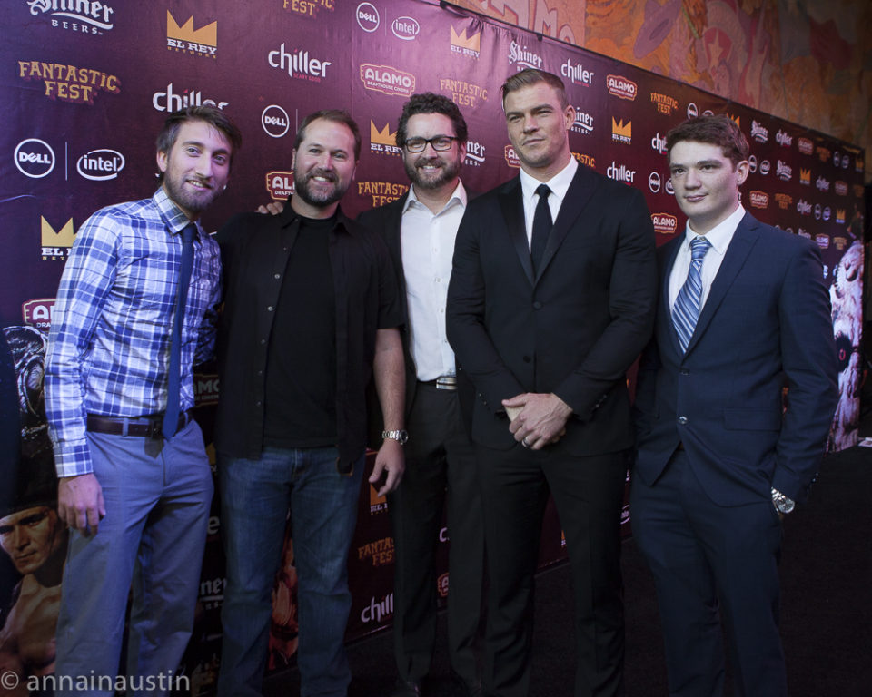 LAZER TEAM red carpet, Fantastic Fest 2015-9729
