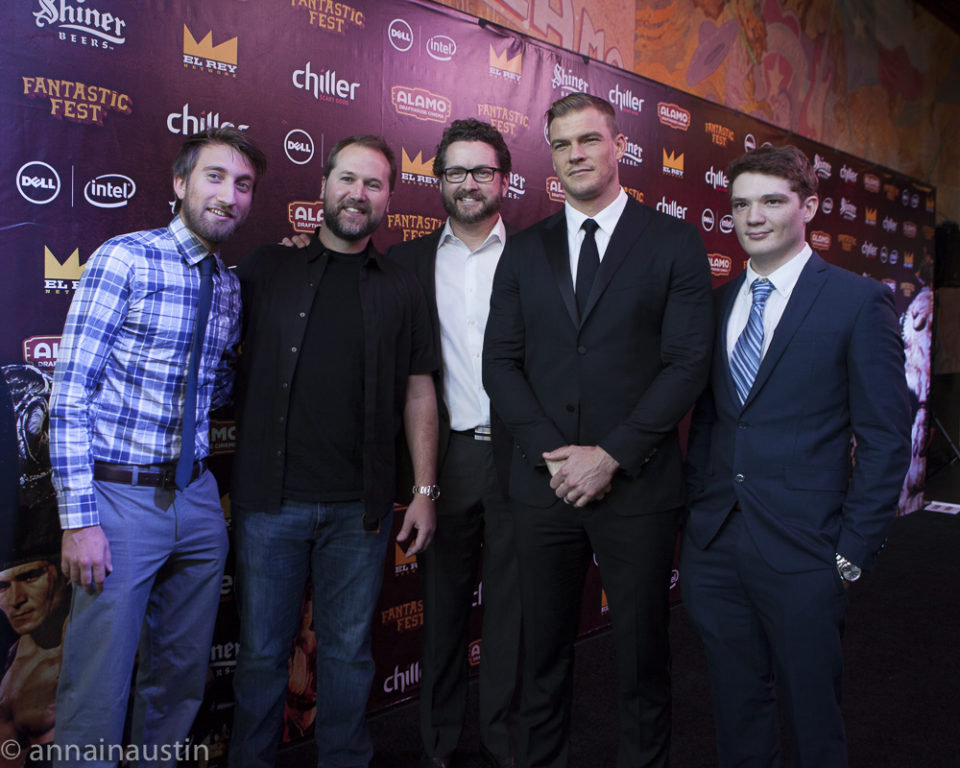 LAZER TEAM red carpet, Fantastic Fest 2015-9731