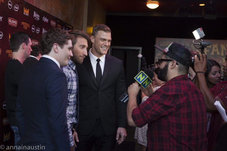 LAZER TEAM red carpet, Fantastic Fest 2015-9819