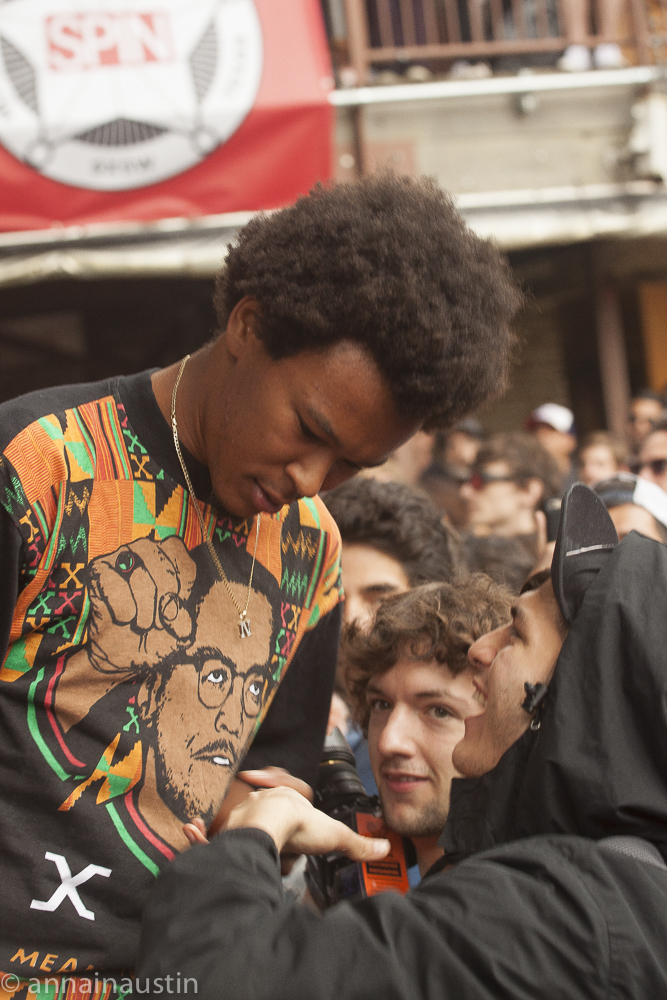 Earl Sweatshirt set at the SPIN party  SXSW 2015 Austin, Texas -6214