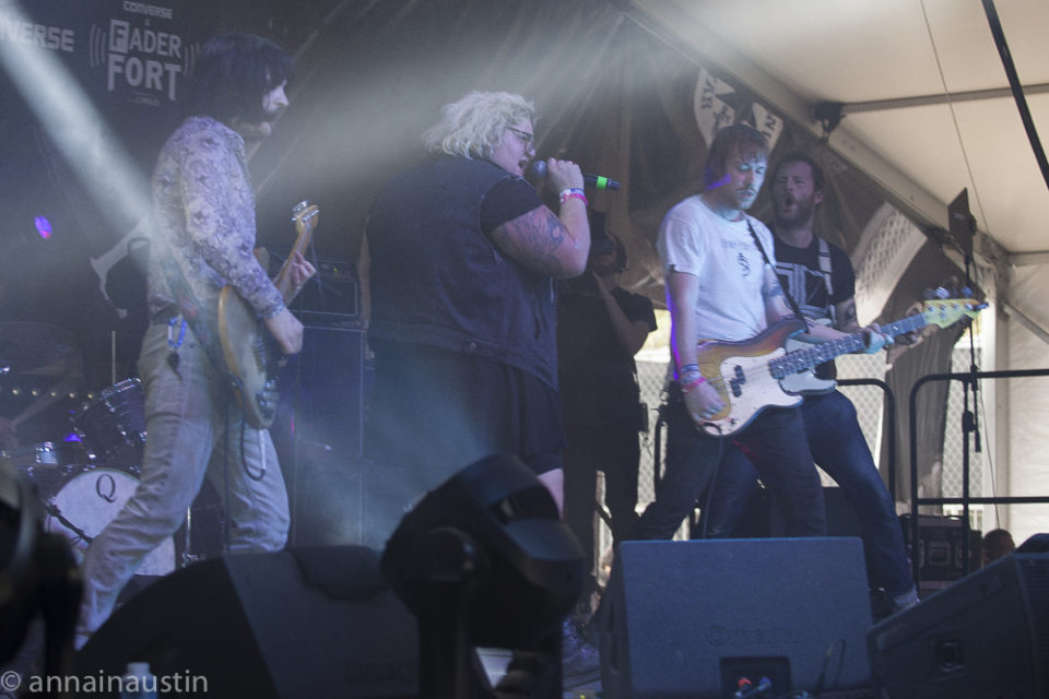 Sheer Mag, Fader Fort (Presented by Converse) SXSW, Austin, Texas 2016-7239