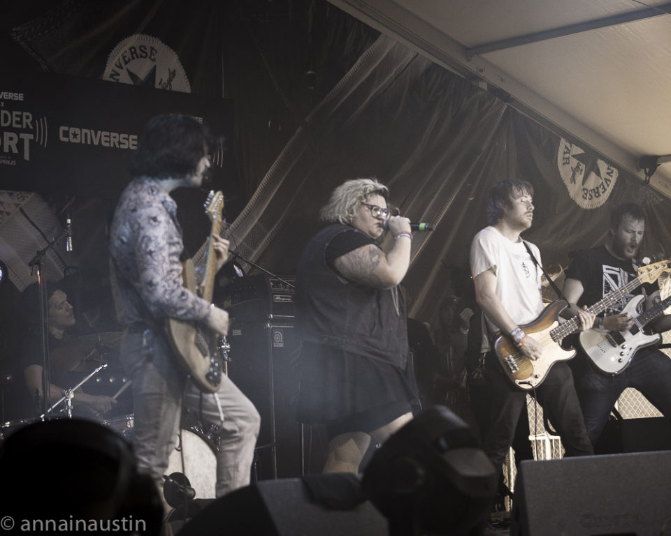 Sheer Mag, Fader Fort (Presented by Converse) SXSW, Austin, Texas 2016-7246
