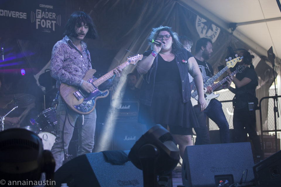 Sheer Mag, Fader Fort (Presented by Converse) SXSW, Austin, Texas 2016-7266