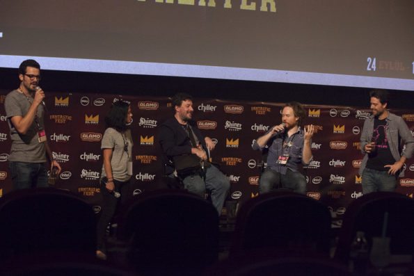 TOO LATE Q and A at Fantastic Fest 2015