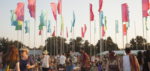 ACL flags at Sunset