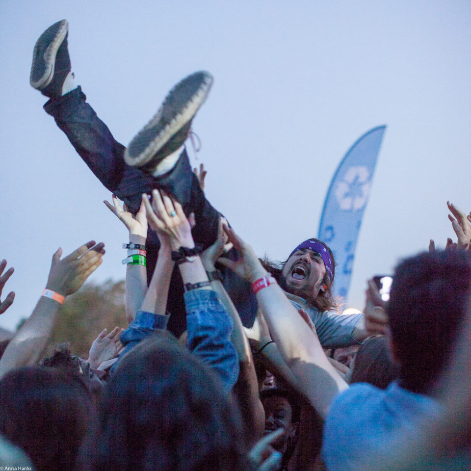 Crowd at Austin Psych Fest