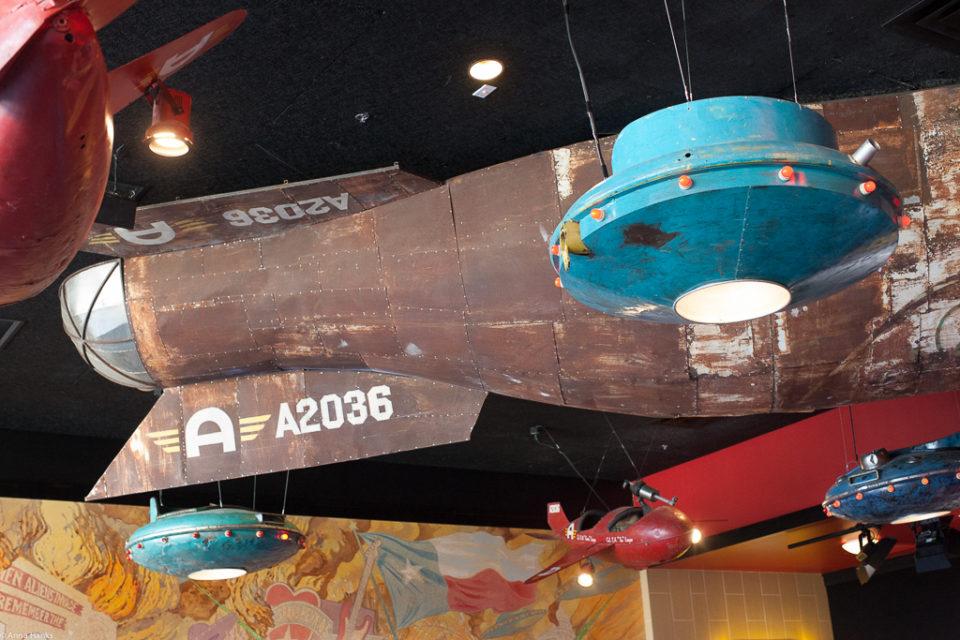Spaceship in Alamo Lobby
