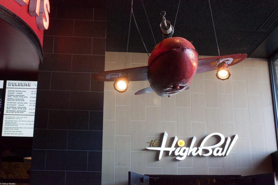 Entrance into the Highball