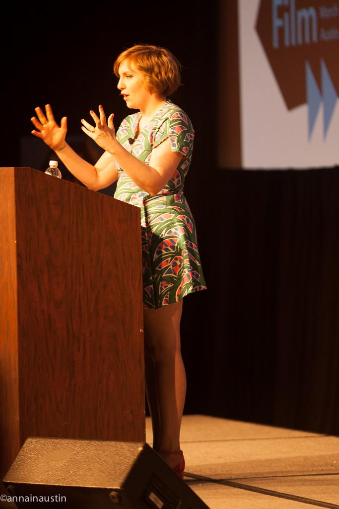 Lena Dunham SXSW 2014--13
