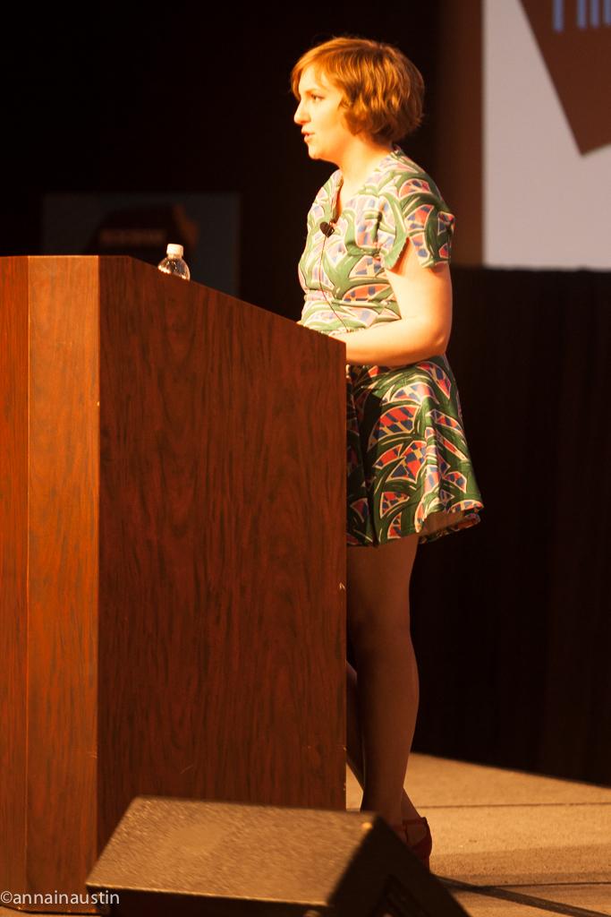 Lena Dunham SXSW 2014--15
