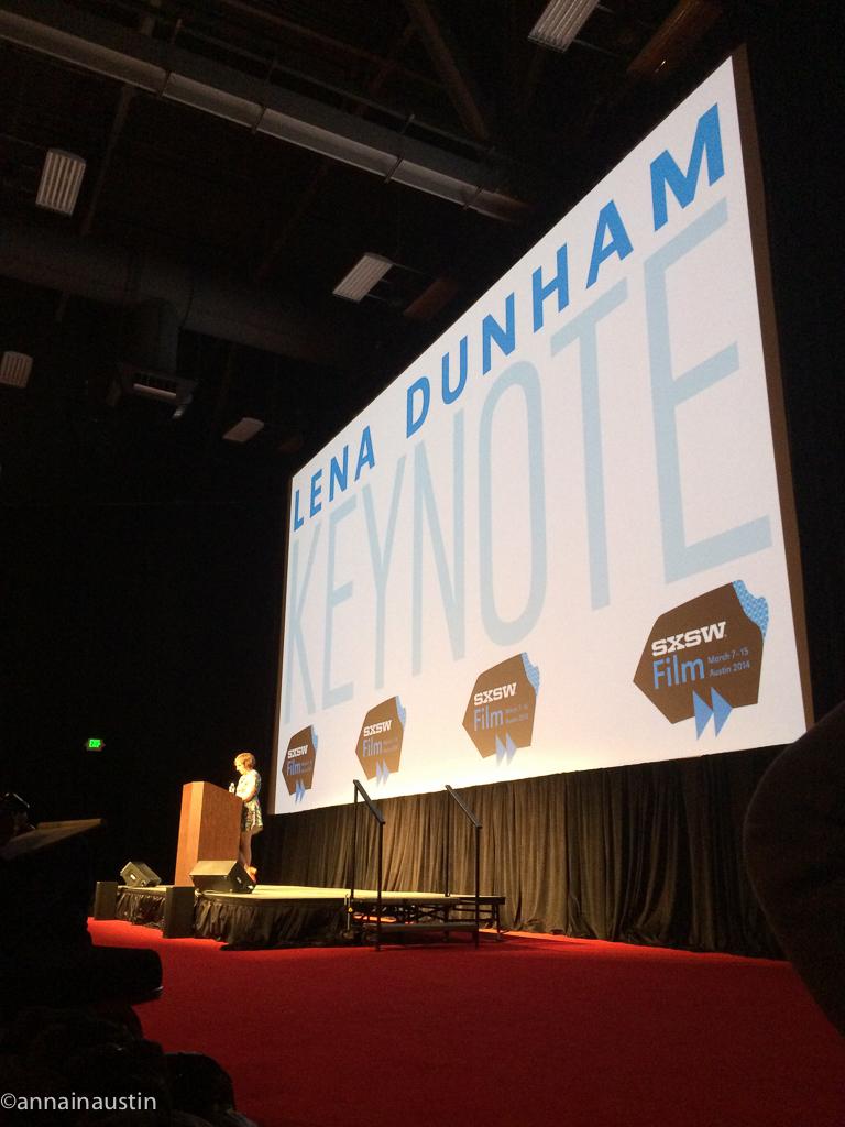 Lena Dunham SXSW 2014--2-2