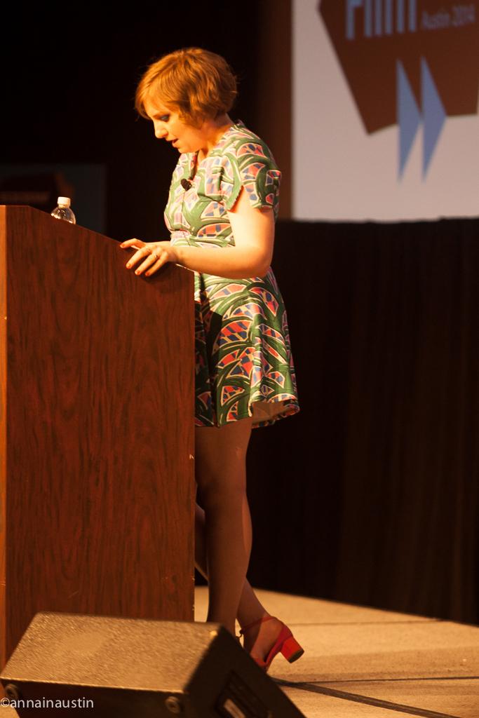 Lena Dunham SXSW 2014--21