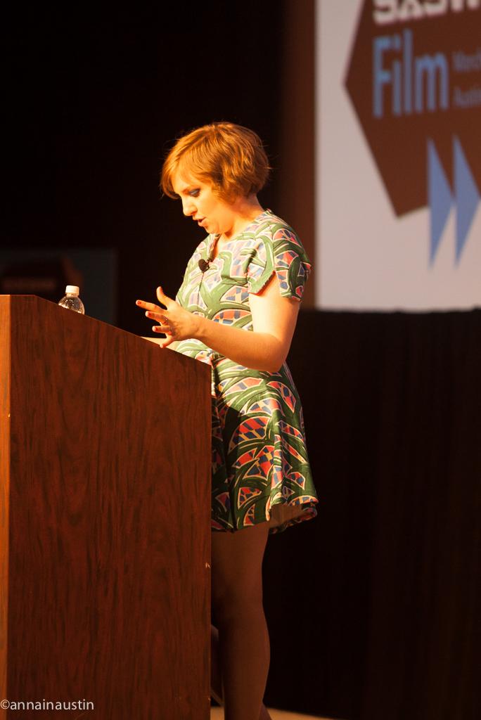 Lena Dunham SXSW 2014--22