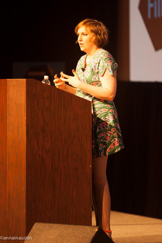 Lena Dunham SXSW 2014--24