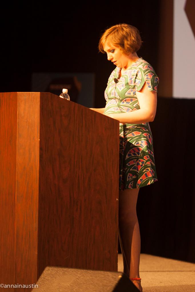 Lena Dunham SXSW 2014--26