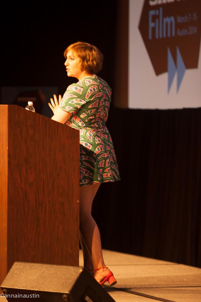 Lena Dunham SXSW 2014--27