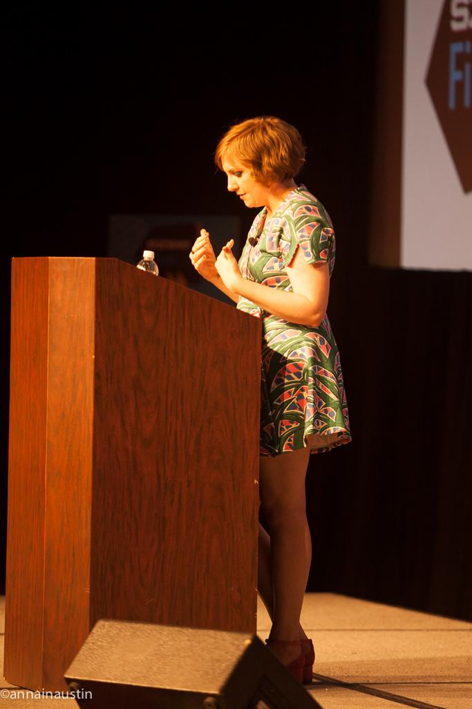 Lena Dunham SXSW 2014--29