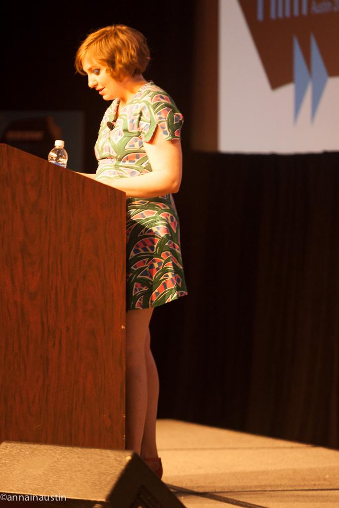 Lena Dunham SXSW 2014--32