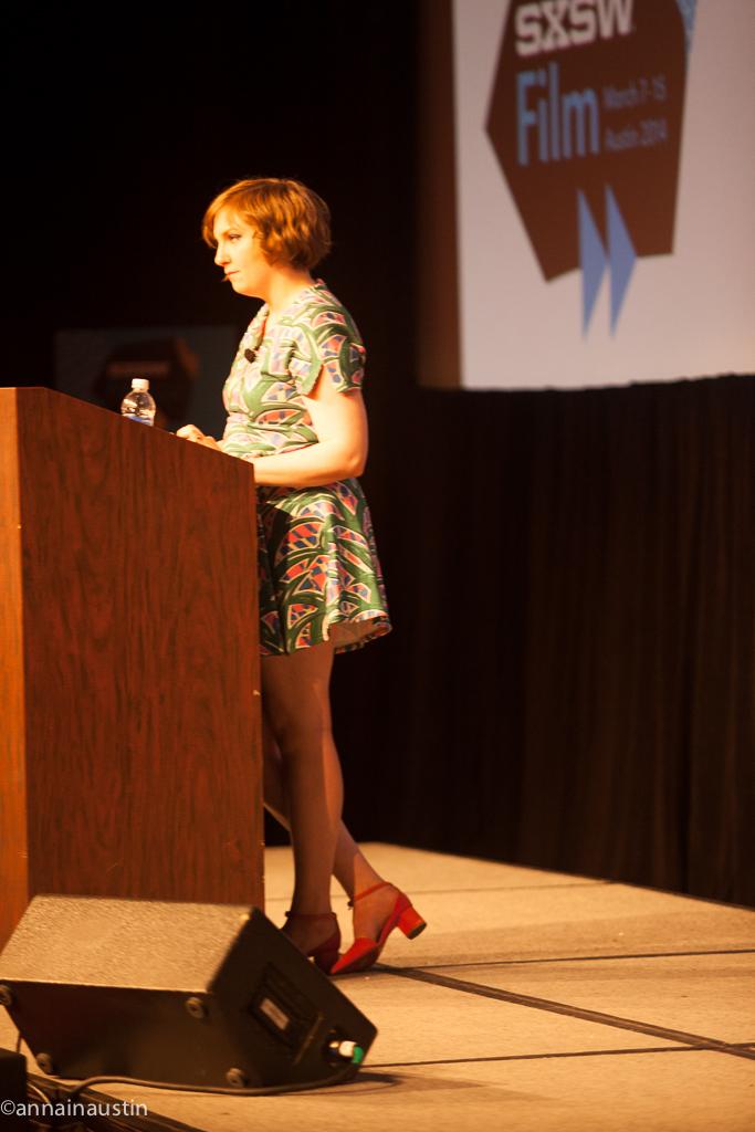 Lena Dunham SXSW 2014--39