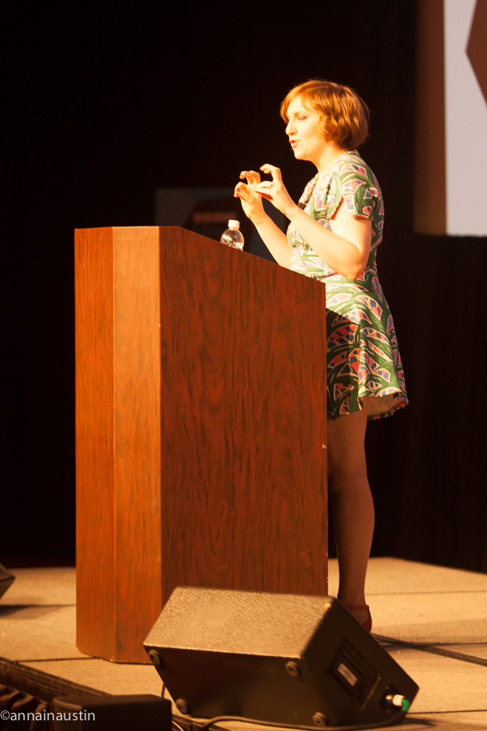 Lena Dunham SXSW 2014--43