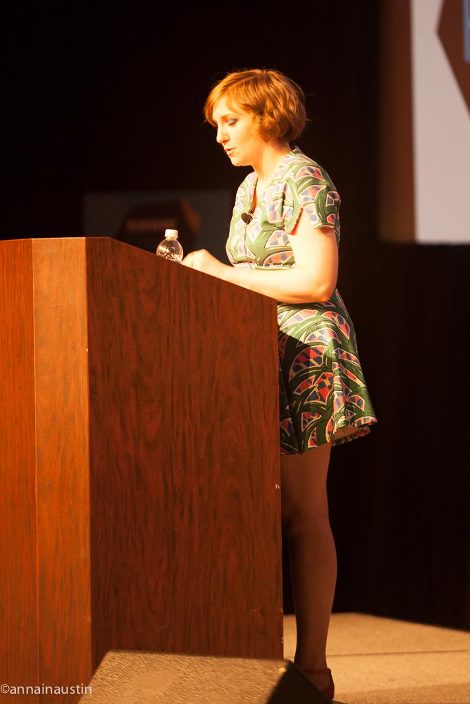 Lena Dunham SXSW 2014--44