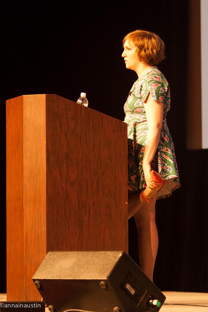 Lena Dunham SXSW 2014--47