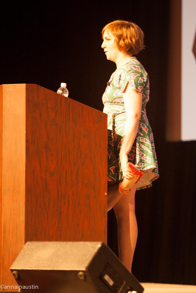 Lena Dunham SXSW 2014--49