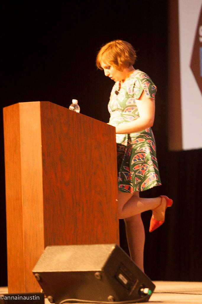 Lena Dunham SXSW 2014--51