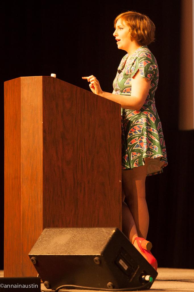 Lena Dunham SXSW 2014--53