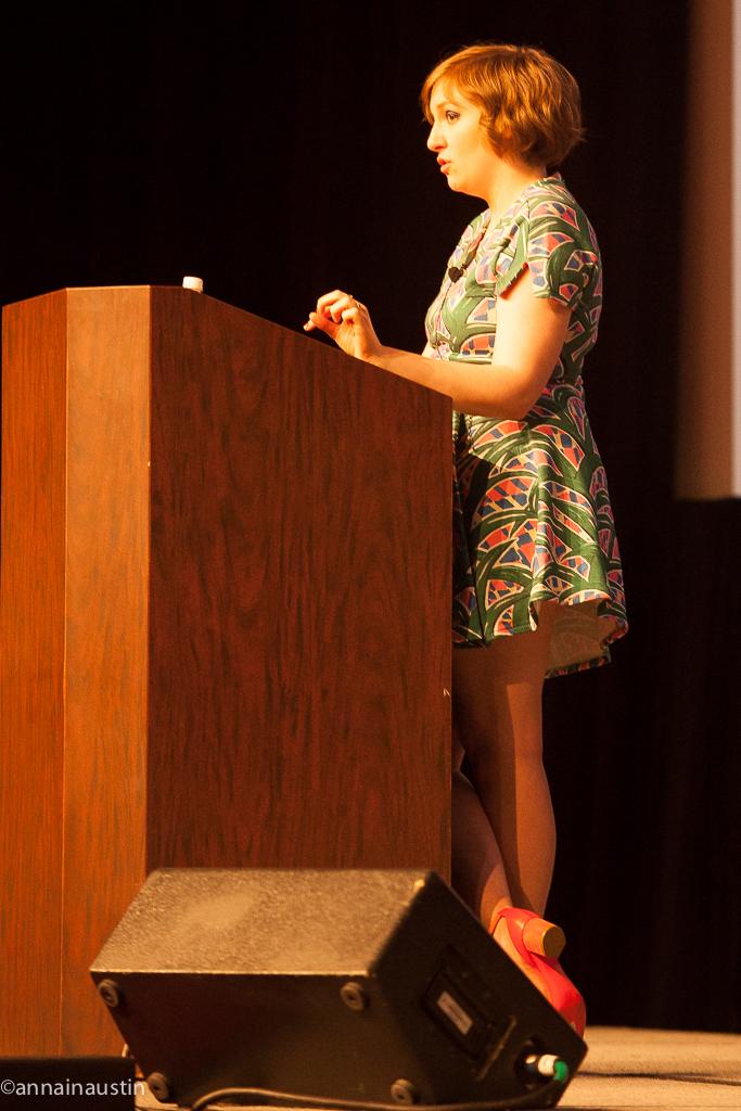 Lena Dunham SXSW 2014--54