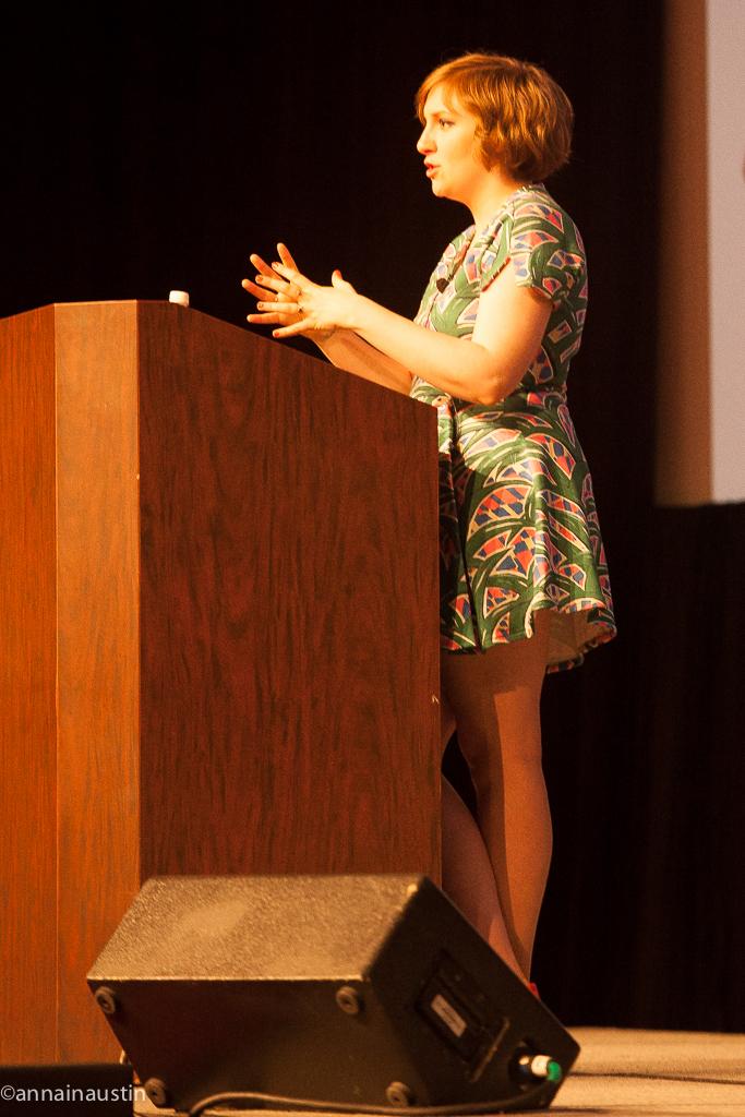 Lena Dunham SXSW 2014--55