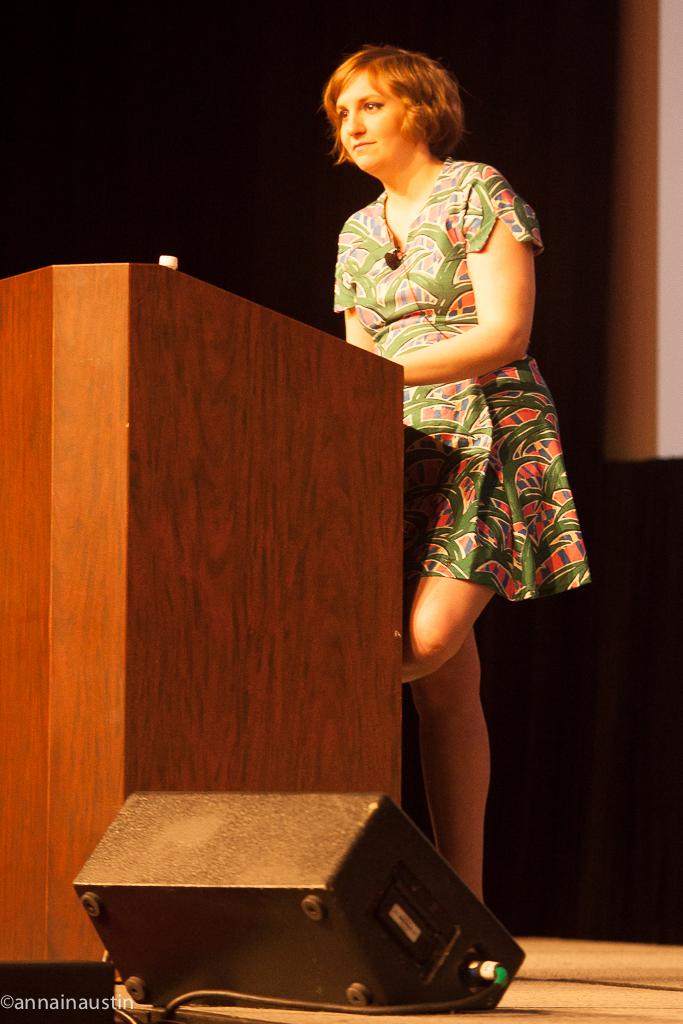 Lena Dunham SXSW 2014--56