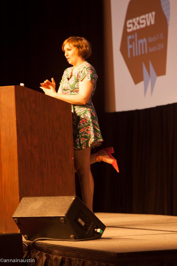 Lena Dunham SXSW 2014--58