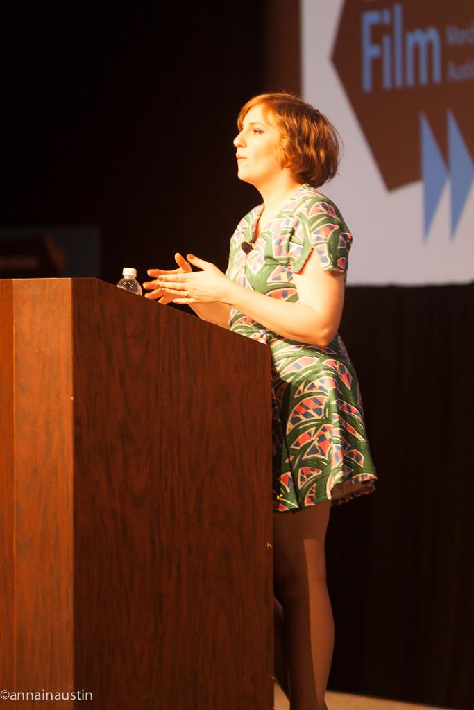 Lena Dunham SXSW 2014--6