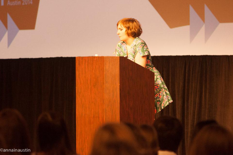 Lena Dunham SXSW 2014--62