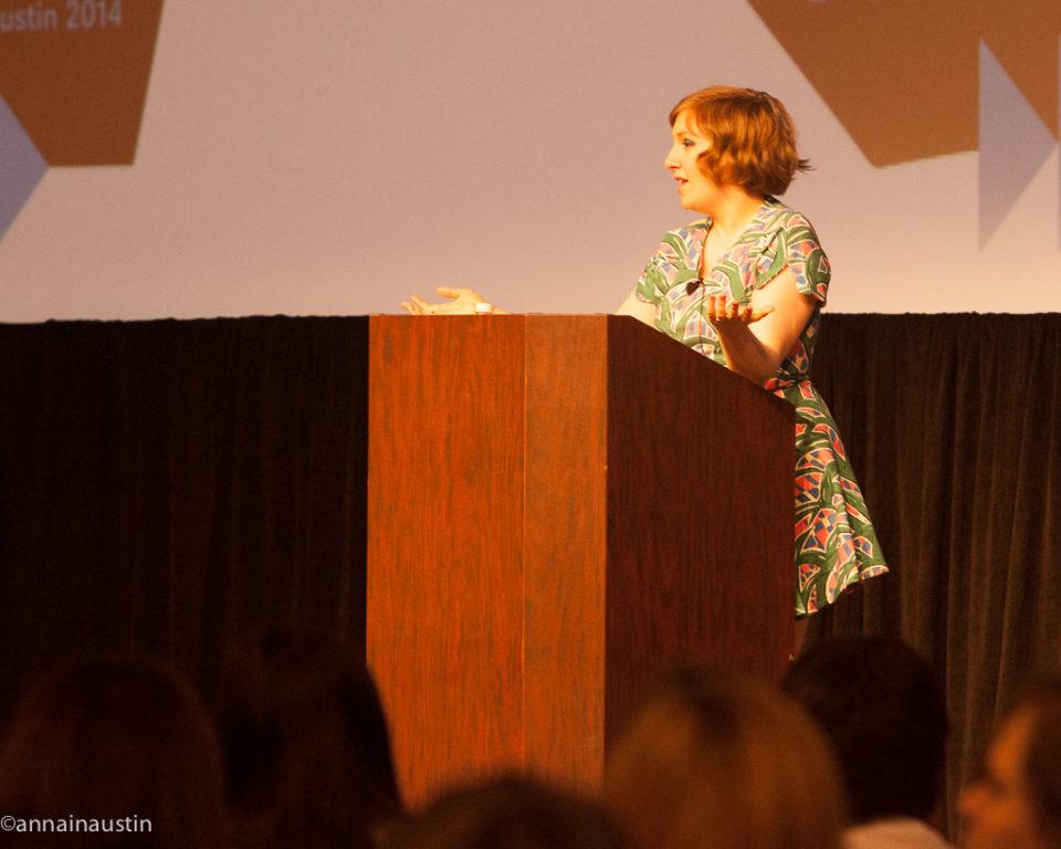 Lena Dunham SXSW 2014--64