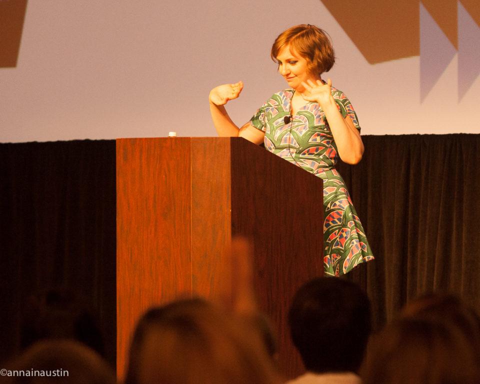 Lena Dunham SXSW 2014--70