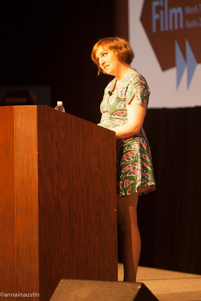 Lena Dunham SXSW 2014--9